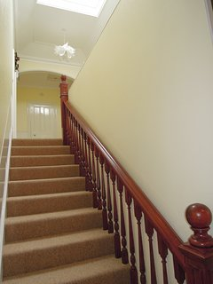Internal, original staircase (inside the apartment)