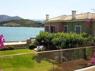 Seafront ThalassaMare  villa, Lefkada Town
