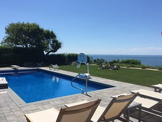 Sound Front with InGround salt water/heated pool, Greenport