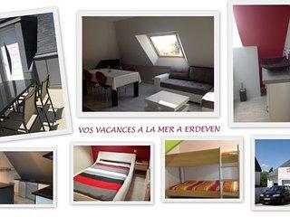Bel appartement 4/6 personnes, Erdeven