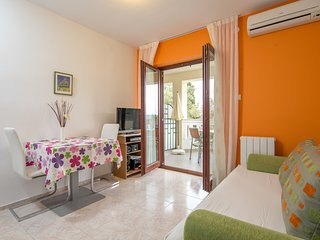 Sunny One-Bedroom Apartment with Balcony