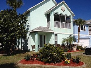 Beautiful Beach House with Ocean View Terrace, Cocoa Beach