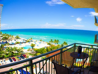 Best Beach Front Getaway Property Ocean View, Hallandale Beach