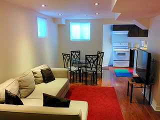 Spacious Brand New FURNISHED Basement For Rent