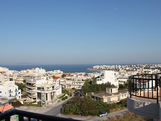 1AA142016 Spacious ,vibrant penthouse in Rafina ,