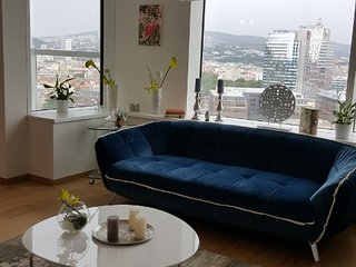 Modern apartment near river promenade, Bratislava