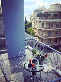 Blue Room: Balcony