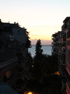 Sunset - View of the sea