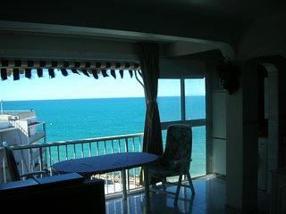 apartamento salou primera linea de playa, Salou