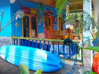 ROOM 4 RENT N. 3 Shared House AC FAN WIFI KITCHEN, Gili Air