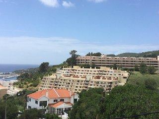 Apartamento familiar - Varanda com vista de mar