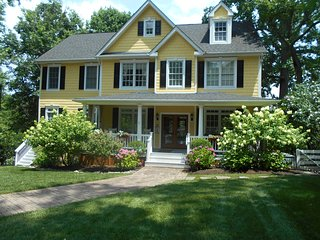 The Yellow House- Gorgeous Southern Colonial