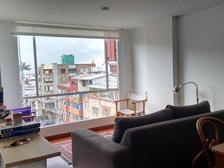 Dos dormitorios plana Chapinero, Bogotá