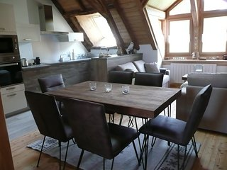 Appartement-chalet n°2 4 etoiles 80 m2 3 chambres-Grand Jardin Privatif cloture