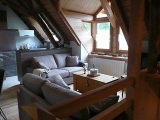 Appartement-chalet n°2 4 étoiles 80 m2 3 chambres, Le Monetier-les-Bains