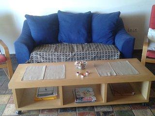 Kunststil Wohnung Lagonisi nah am Strand, Kalyvia Thorikou