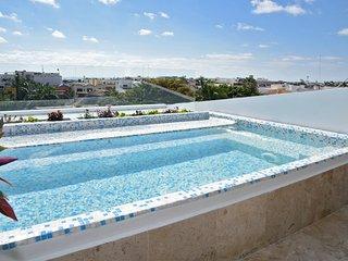 Ocean View 3 Bedroom Penthouse with Private Pool - sleeps 11 people - CF3B