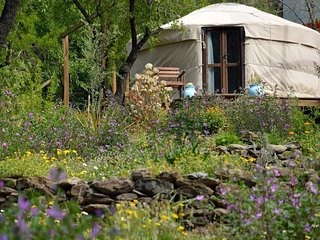 Beautiful yurt in the heart of Alpujarra mountains