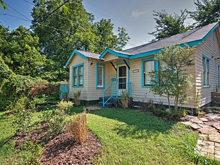 Cozy 2BR Oklahoma City House Near Art District!