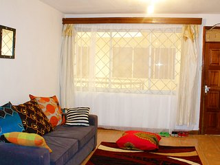 Spacious, homey two bedroom apartment, Nairobi