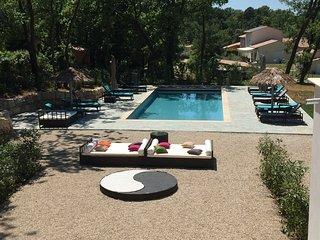 Maison avec piscine pour 4 pers, la Provence, Montauroux