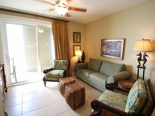 Make this your home away from home, right on the beach in this lower level 2 Bedroom at Grand Panama, Panama City Beach