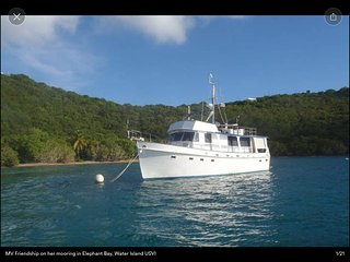 MV Friendship – Your own Master Bedroom on a boat in calm crystal clear waters!, Water Island