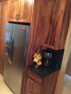 Koa cabinets-beautiful