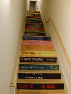 Stairway to inspiration courtesy of NC Authors