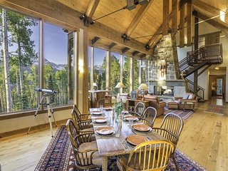 Beautiful Ski Ranches home with private hot tub and breathtaking views - Canyon View Retreat, Telluride