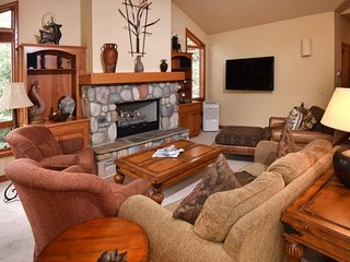 This Vail Vacation home is located on the town of Vail's shuttel to Vail Village