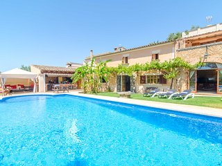 ES PORRASSAR - Property for 11 people in Cas Concos