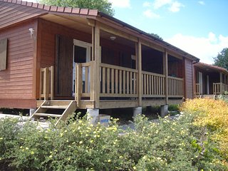 Holiday chalet at La Butte aux cerfs, Vire
