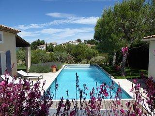 Mas de luxe avec grande piscine/Jacuzzi sur le complexe de Golf, Pont Royal