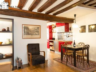Warm and classical 1bedroom apartment in Le Marais