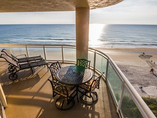 Wrap Around Portion of the Oceanfront Balcony