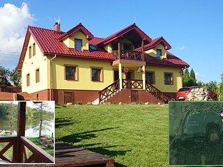Mazurski Raj - Luksury Turism: house 220m2 20perso, Pozezdrze