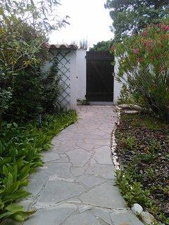 Jardin intérieur  - entrée