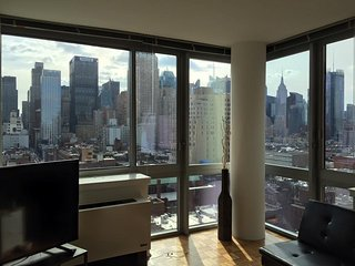 1BR APT - Awesome view near Times SQ!!!!!, Nova York