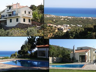 Crete-seaside Milatos-Villa Iliothea up 15 people