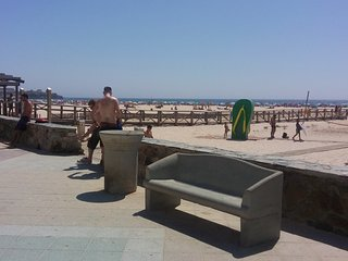 Estudio en primera linea de playa, Tarifa