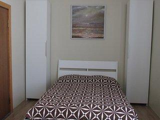 Double bed room for holiday season, Nida