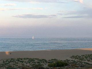 Beau T1 cabine vue imprenable mer et montagne, Port-Leucate