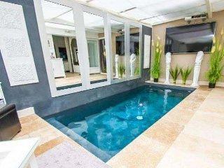 Villa Bianca ( chambre vue piscine), Gujan-Mestras