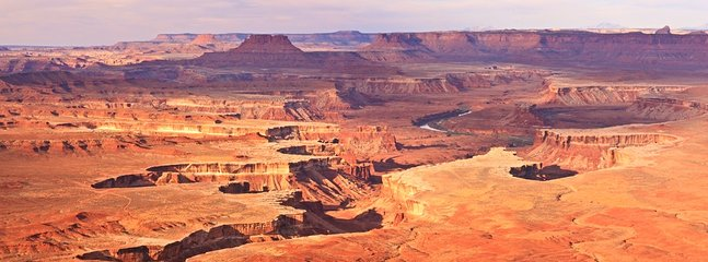 Green River Overlook in Canyonlands National Park - 45 minutes from Y-4.
