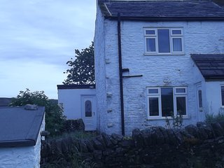 Romantic ,cosy,totally private cottage,24/7 hottub, Allendale
