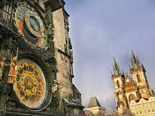 Astronomical Clock 3-minute walk from the apartment