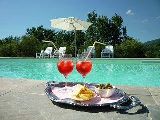 Casa con piscina nelle colline fiorentine, Reggello