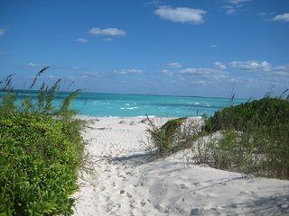 Carribean Villa- Steps from White Sand, Treasure Cay