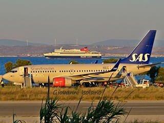ville Chios est facilement accessible par bateau ou airoplane